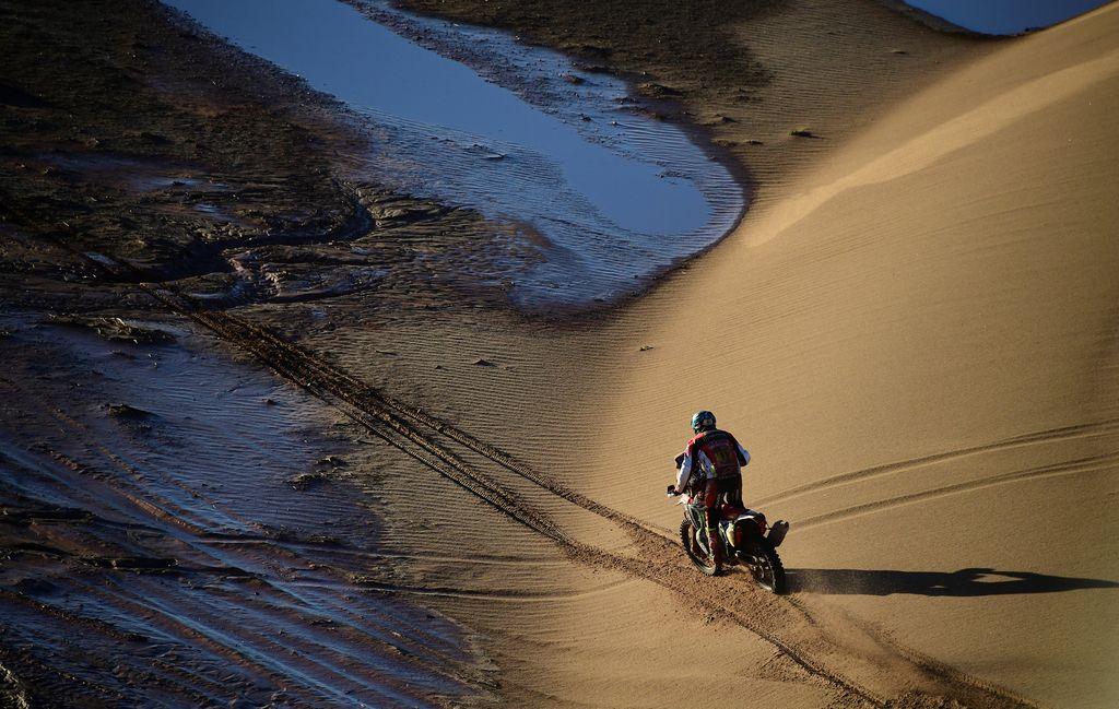 Plaz odnesel deveto etapo Dakarja