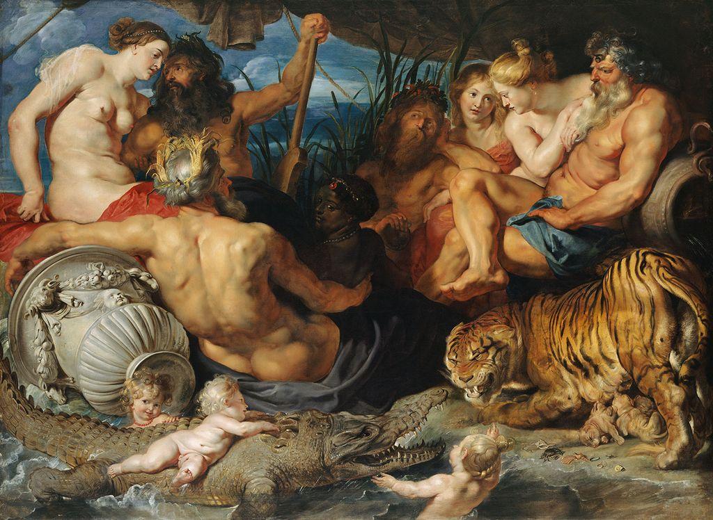 Na Dunaj k Mariji Tereziji, Rubensu in vulgarni modi