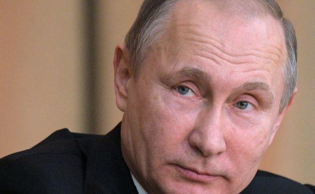 Russian President Vladimir Putin attends a meeting with Russian prosecutors in Moscow, Russia, Wednesday, Jan. 11, 2017. (Alexei Druzhinin/Sputnik, Kremlin Pool Photo via AP)