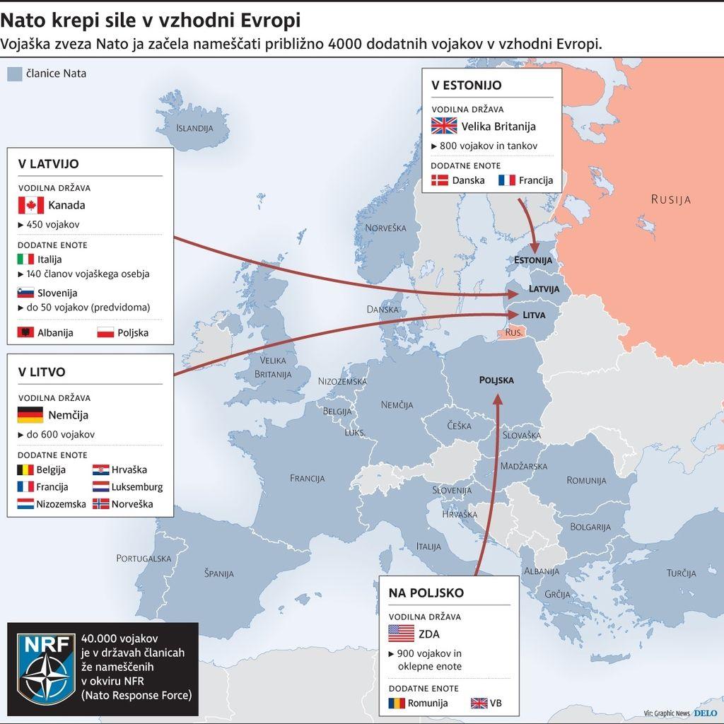 Vlada: Vojaki gredo na mejo z Rusijo