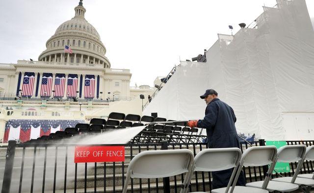 US-WASHINGTON-DC-PREPARES-FOR-PRESIDENTIAL-INAUGURATION
