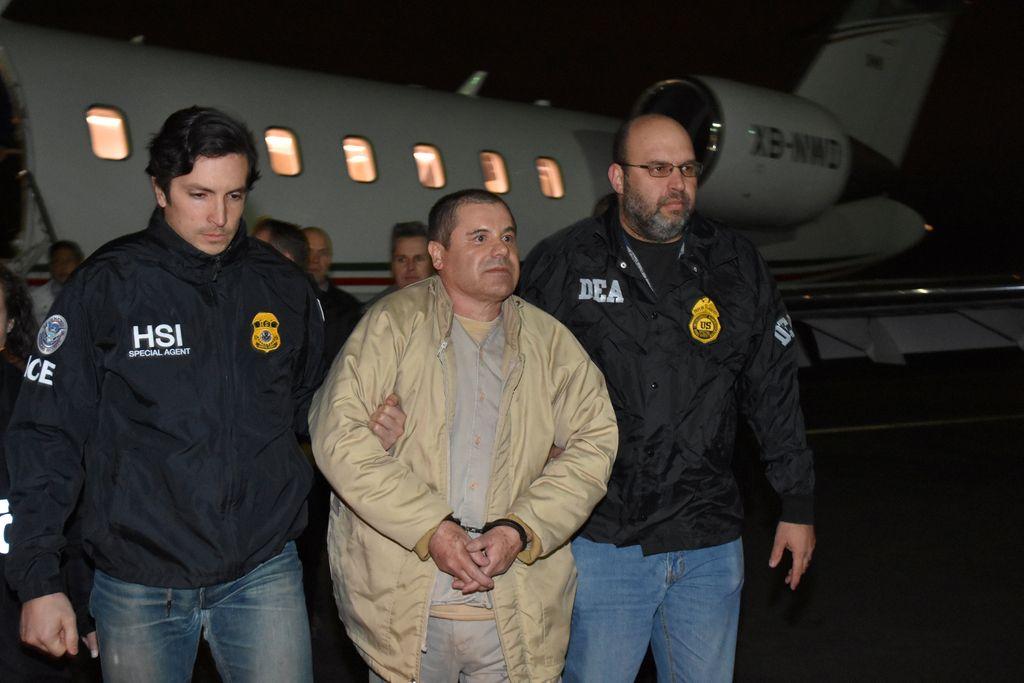 El Chapo izročen ZDA