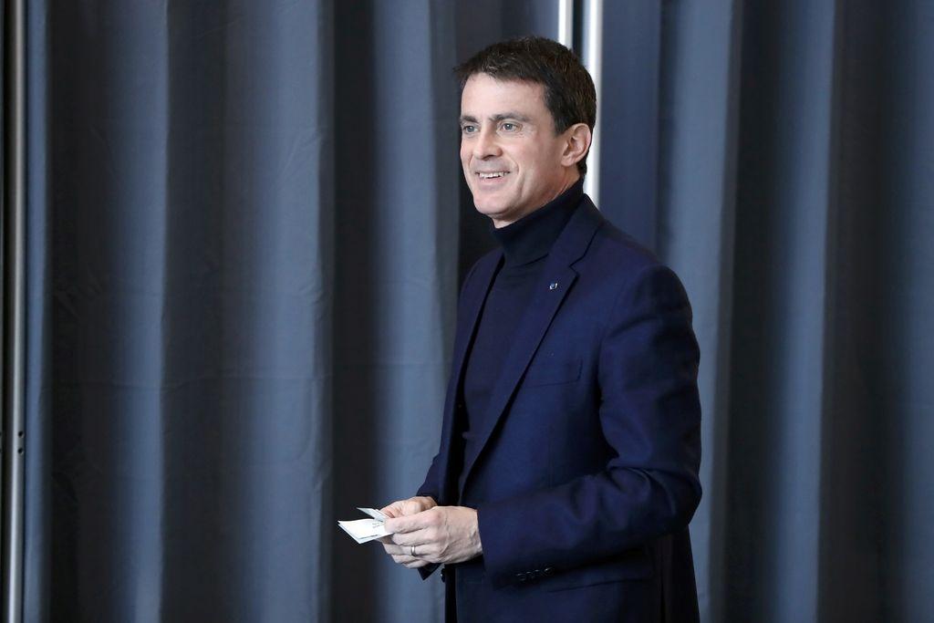 V drugi krog primarnih volitev francoske levice Valls in Hamon