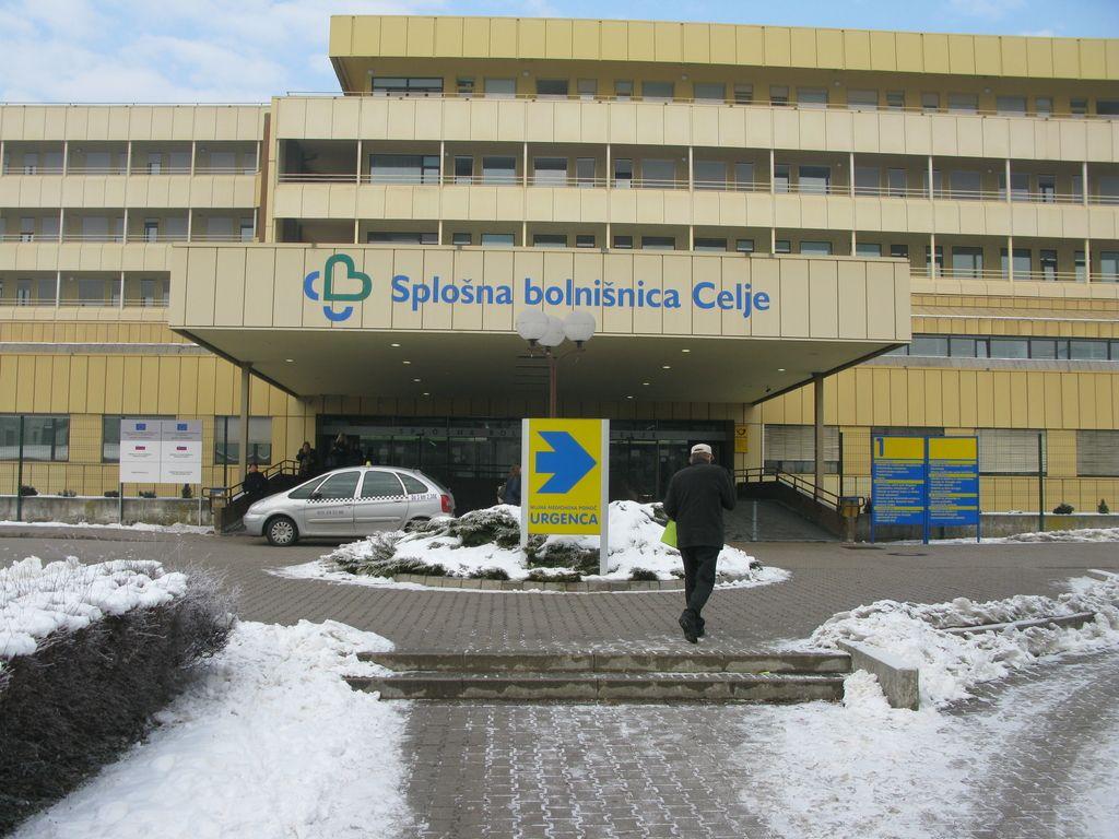 Celjska bolnišnica v novem letu deset dni nelikvidna