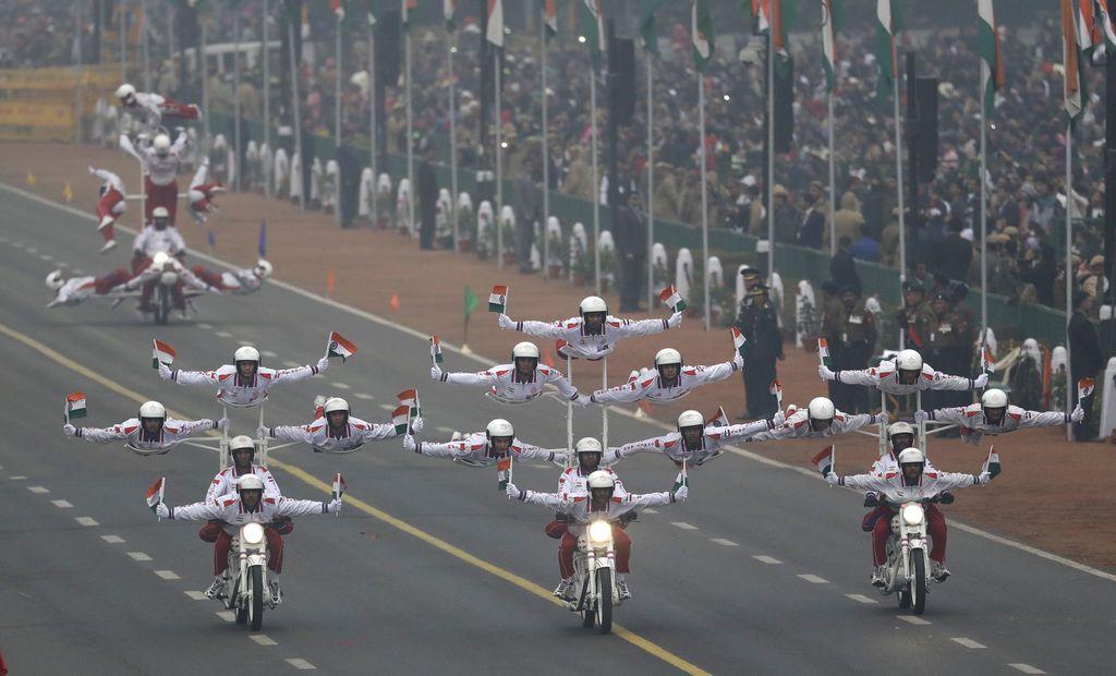 Indijski spektakel ob dnevu republike