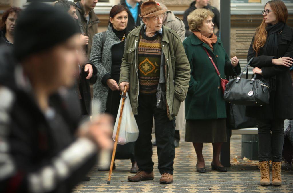 Italijani protestirajo proti dvigu upokojitvene starosti