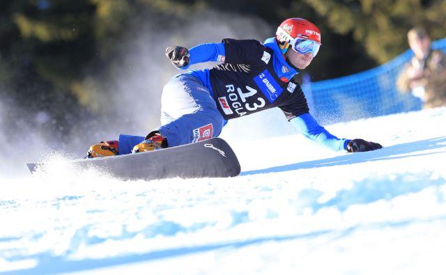 Žan Košir, tekma za svetovni pokal v deskanju na snegu, 28.1.2017, Rogla [žan košir, snowboard