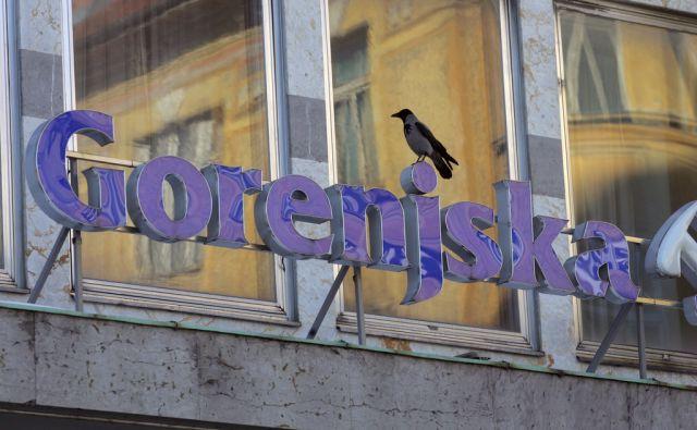 SLOVENIJA,LJUBLJANA,16.2.2012, GORENJSKA BANKA  V LJUBLJANI NA DALMATINOVI ULICI.FOTO:MAVRIC PIVK/DELO