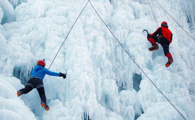 Plezanje po ledu 25.1.2017 Mojstrana Slovenija [ledno plezanje,plezalci,Mojstrana,Slovenija]