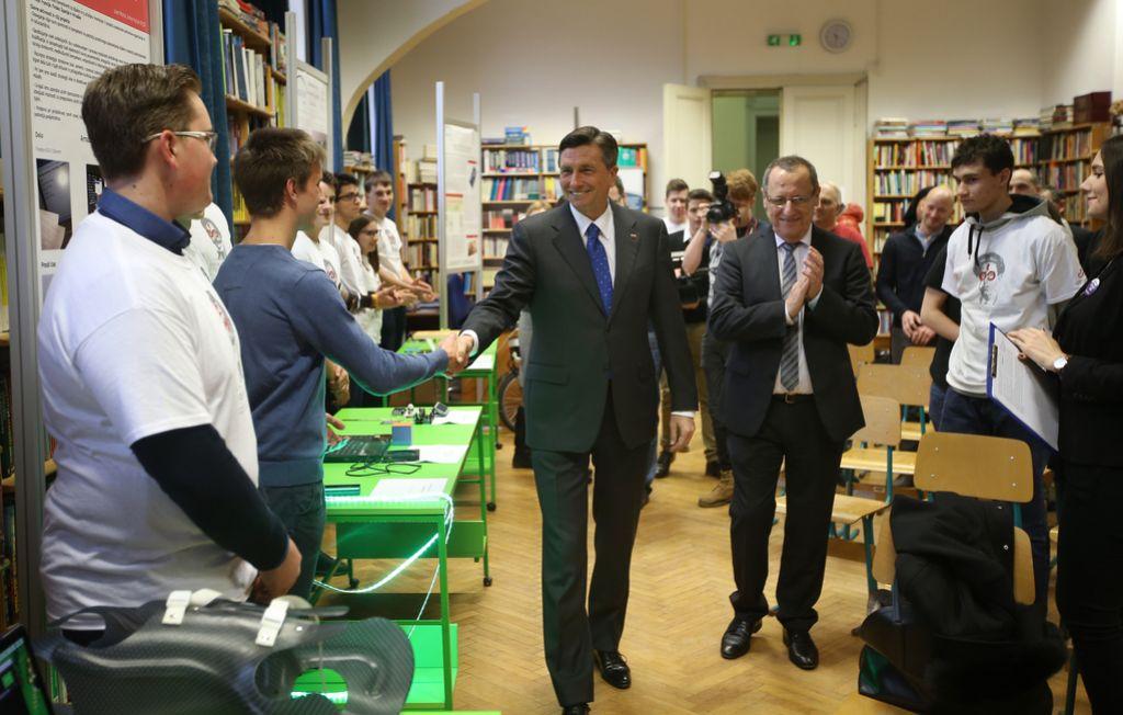 Pahor na Vegovi: Talent ni dovolj, treba je biti pogumen in vztrajen