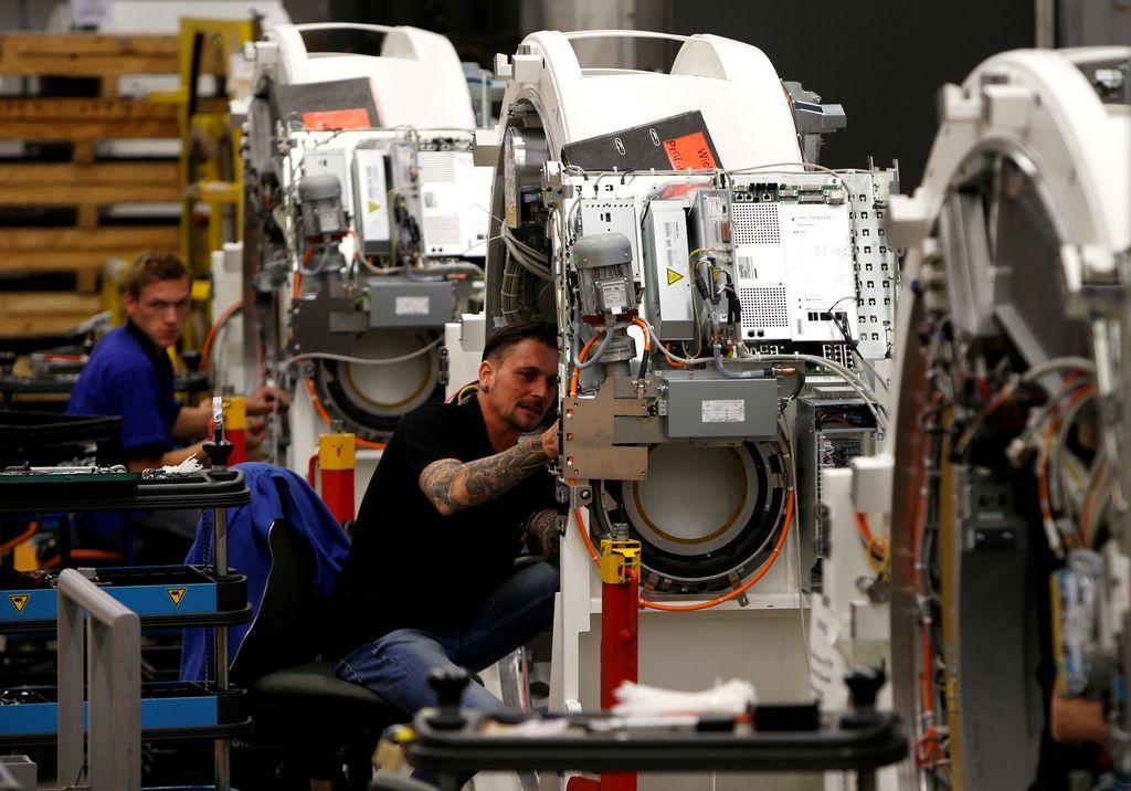 Nemška proizvodnja nepričakovano manjša