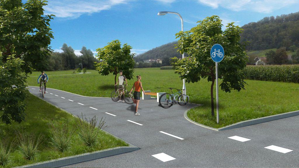 Za 50 milijonov evrov kolesarskih poti
