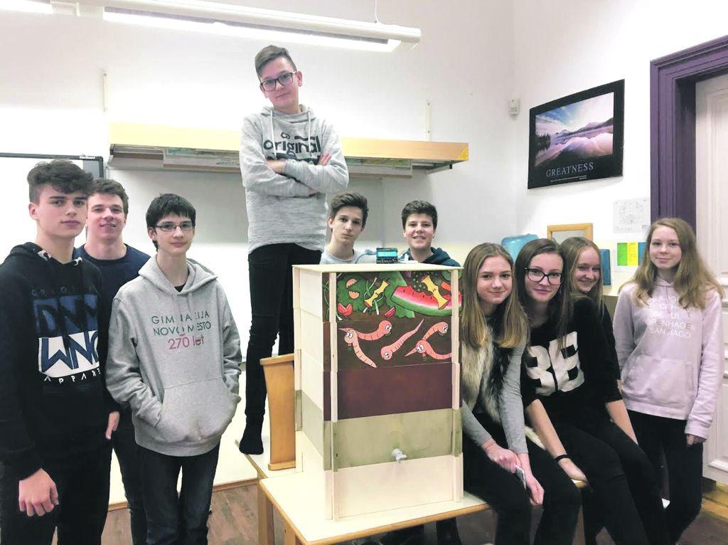 Mladi slovenski inovatorji predstavljajo: vermikompostiranje
