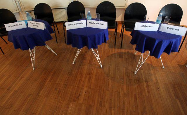 Podpis zaveze političnih strank z Barbaro Rajgelj in Mitjo Blažičem 02.julija 2014