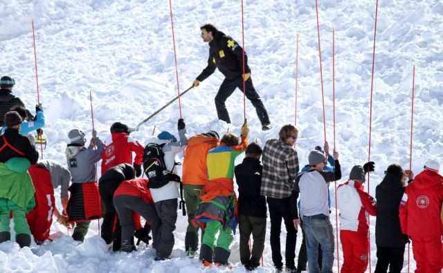 FRANCE-AVALANCHE-ACCIDENT
