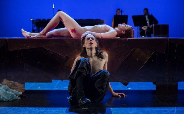 William Shakespeare, Romeo in Julija v režiji Matjaža Zupančiča in izvedbi ansambla SLG Celje, v Celju, 10. februarja 2017.