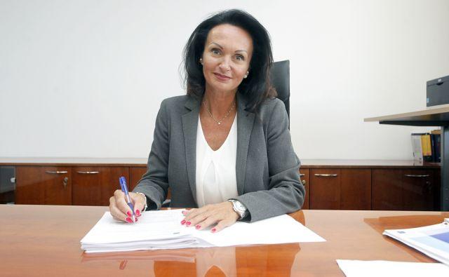 Predsednica uprave SDH Lidjia Glavina. V Ljubljani 8.8.2016[Lidija Glavina.Sdh]