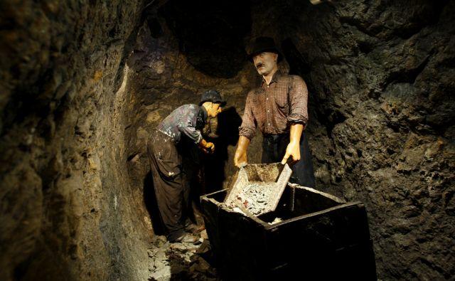 Slovenija, Idrija, 03.07.2012. Antonijev rov, muzejski del rudnika zivega srebra Idriji. Foto: Uros HOCEVAR/Delo