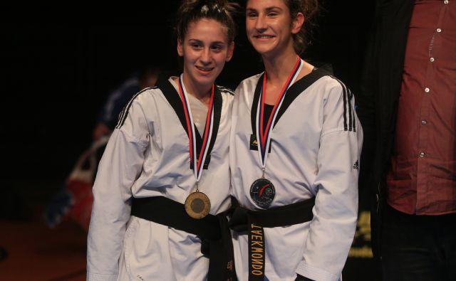 PETRUŠIČ Ana (levo), 26.2.2017, Maribor [ana petrušič, taekwondo]