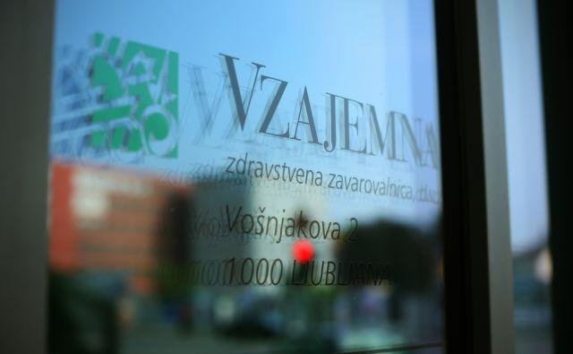 Zdravstvena zavarovalnica Vzajemna v Ljubljani, Slovenija 7.oktobra 2014.