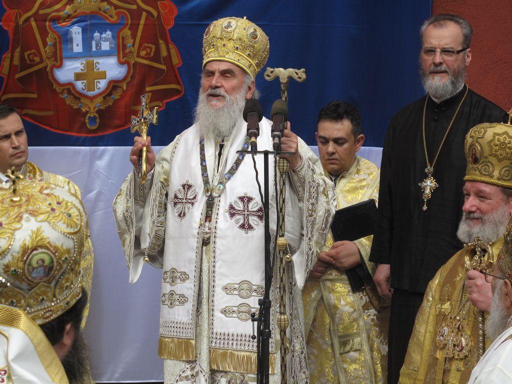 Srbska cerkev spreminja ime zaradi Kosova