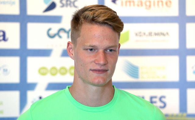 Luka Janežič,reprezentant Slovenije v atletiki,Ljubljana Slovenija 13.08.2015 (Atletika,šport)