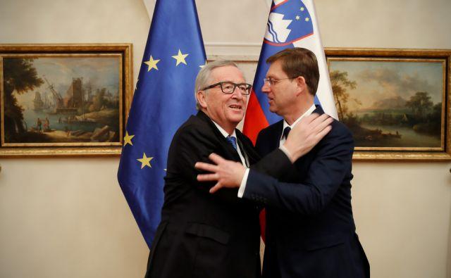 Jean - Claude Juncker - obisk