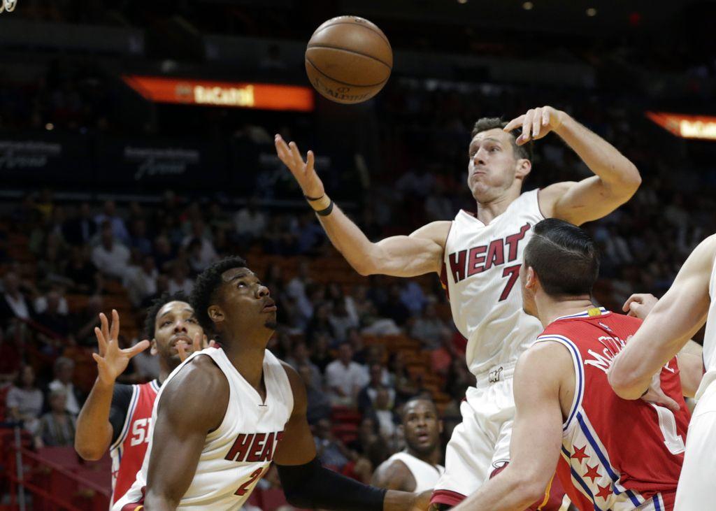 NBA: Dragićev Miami se poigrava s končnico (VIDEO)