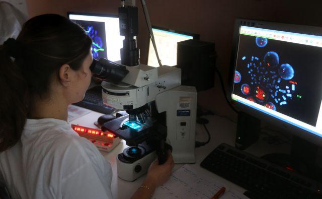Laboratorij za preiskave krvi v Kliničnem centru Ljubljana, 02.Oktober2014