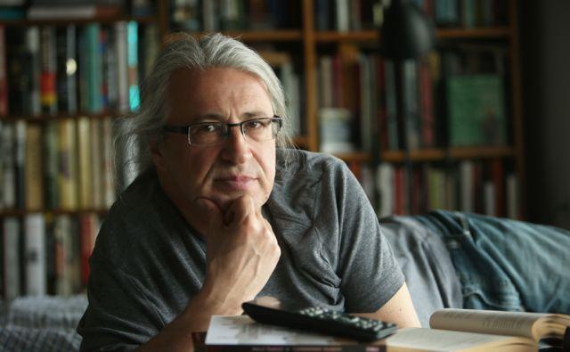 Marcel Štefančič javni intelektualec, novinar, filmski kritik, televizijski voditelj, esejist. Vrhnika, Slovenija 13.maja 2015.