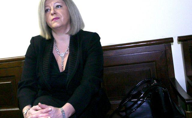 SLOVENIJA LJUBLJANA 14.12.2011 SOJENJE NATASA VODUSEK FOTO:ROMAN SIPIC/DELO