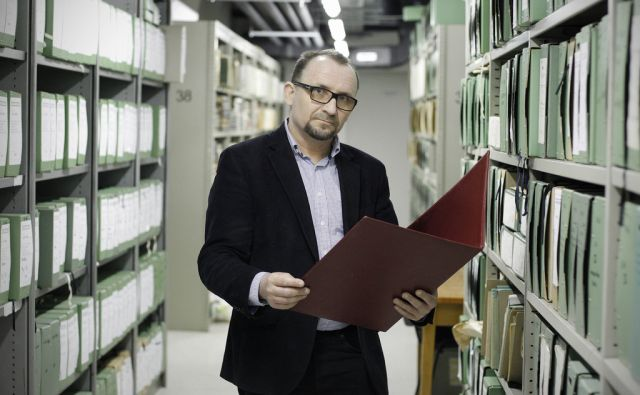 Matevž Košir, Arhiv Slovenije v Ljubljani, 8. marec 2017 [Matevž Košir,Ljubljana,portreti]