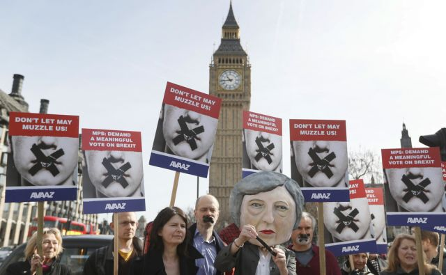 Britain Brexit Protest