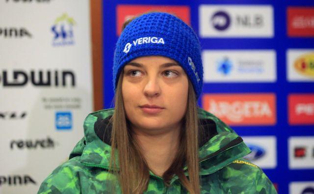 Anja Šešum, kineziologinja Ilke Štuhec, 22.12.2016, Maribor [anja šešum]