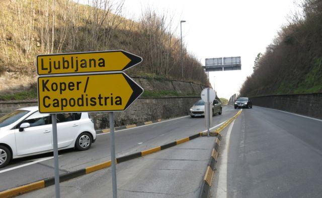 Valeta zaprta za promet - težave
