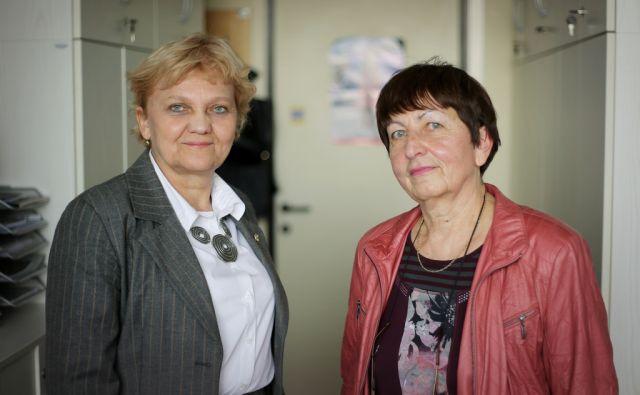 Zrinjka Stanćić in Marija Kavkler 2.3.2017 Ljubljana Slovenija [Zrinjka Stančić,Marija Kavkler,Ljubljana,Slovenija]