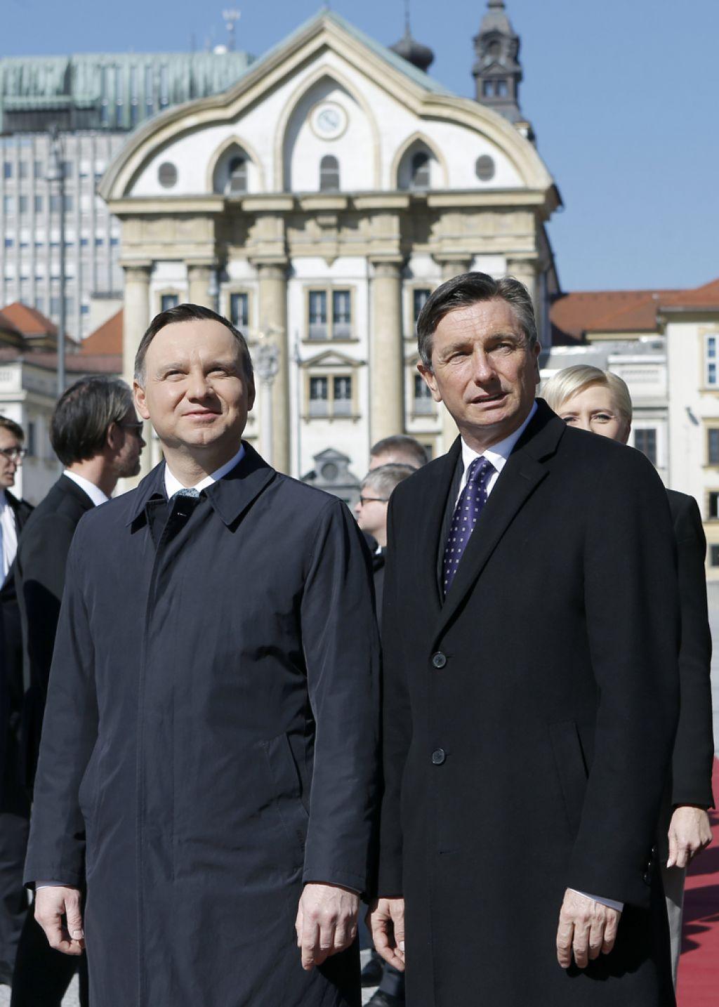 Pahor in Duda v isto smer glede prihodnosti EU