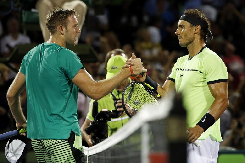 ATP Miami: Fognini presenetil Nišikorija, Nadal zanesljivo v polfinale