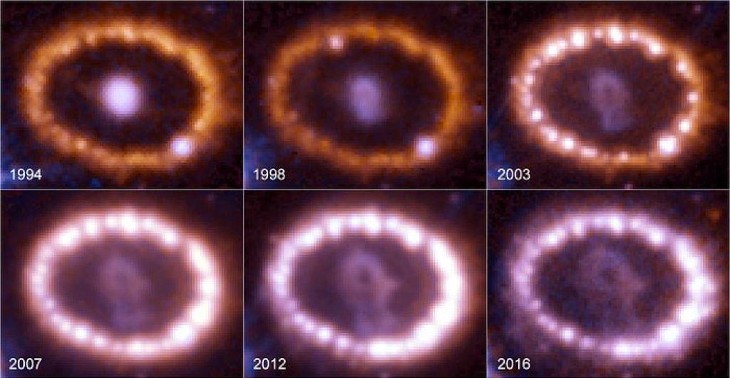 Znanstveni blog: Eno noč prej je ni bilo, potem je eksplodirala