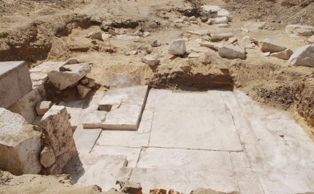TOPSHOT-EGYPT-ARCHAEOLOGY-PYRAMID