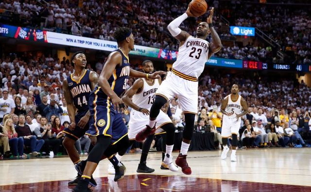 BKN-SPO-INDIANA-PACERS-V-CLEVELAND-CAVALIERS---GAME-ONE
