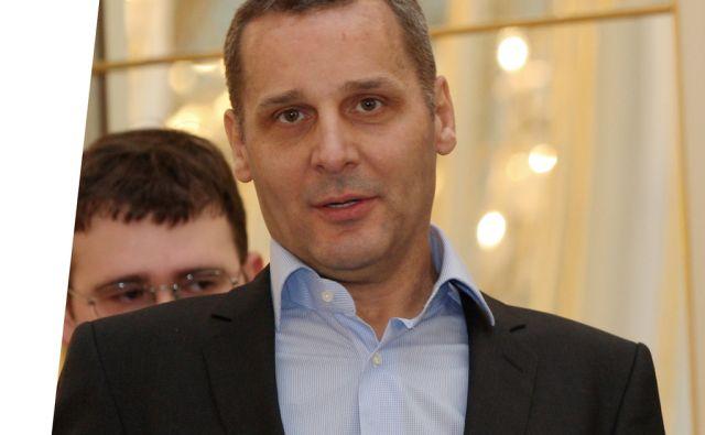 Slovenija, Maribor, 7.2.2011 - ROSKER Danilo, direktor SNG Maribor in MANOJLOVIC Miki  foto:Tadej Regent/Delo