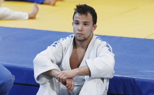 Na sliki Adrian Gomboc.Trening judoistov, ki potujejo na olimpijske igre v Rio, Podčetrtek, 7. junija 2016 [judo,Podčetrtek,treningi,Adrian Gomboc]