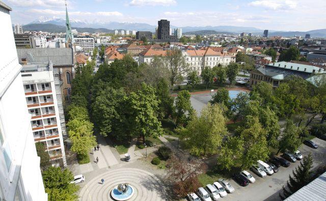 park Tabor v Ljubljani, 20. april 2017 [parki,Tabor,Ljubljana]