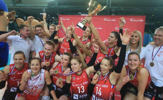 Nova KBM Branik - Calcit Volleyball, 21.4.2017