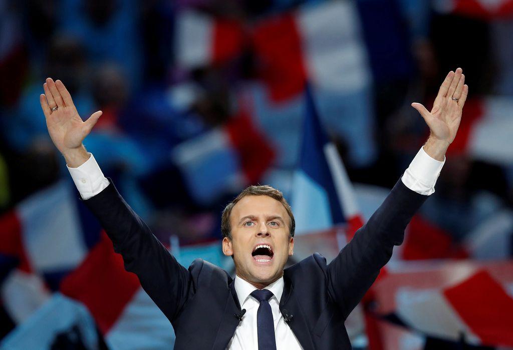 Macron kot mladi up Evrope