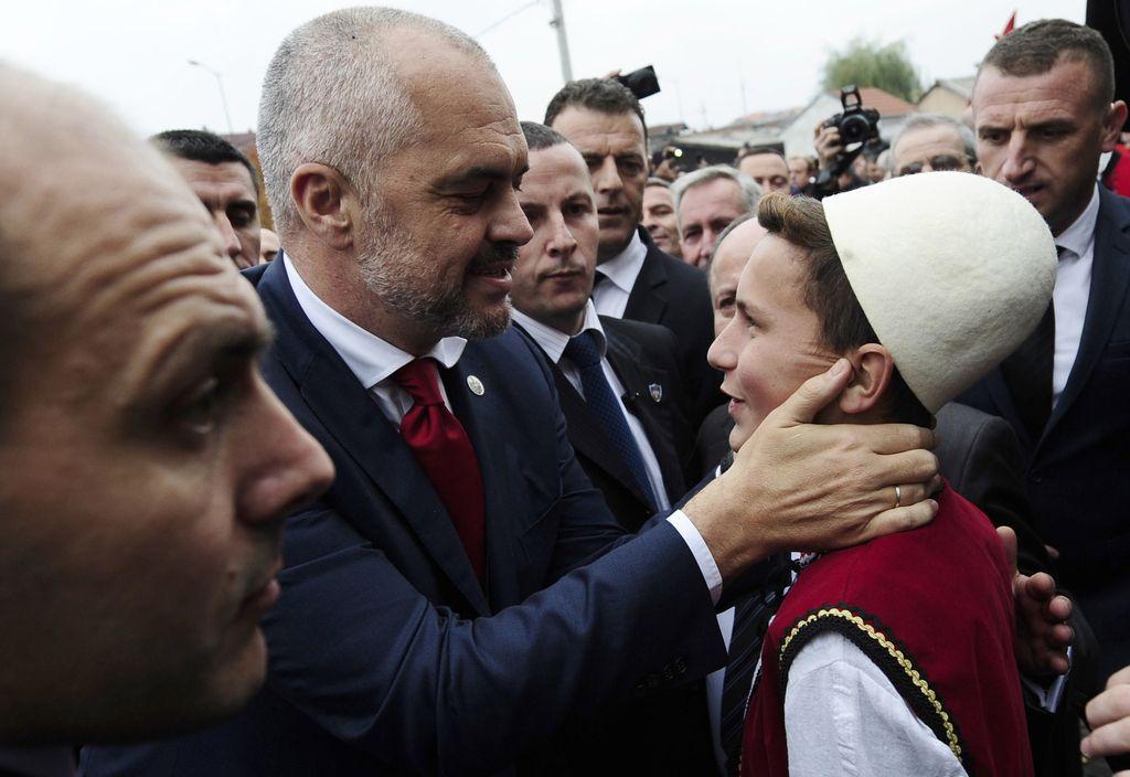 Združitev vseh Albancev na Balkanu v eni državi