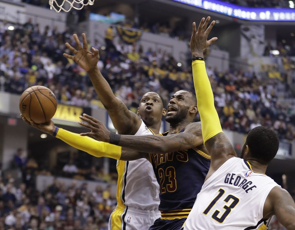 NBA: branilec naslova Cleveland gre brez madeža naprej (VIDEO)
