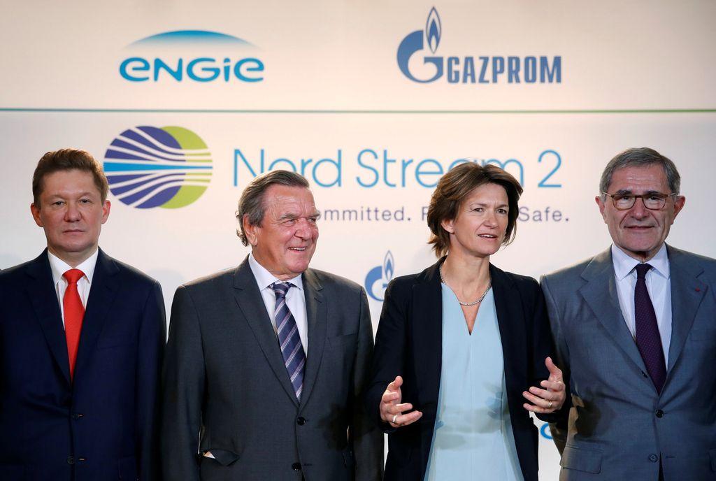 Pet podjetij v financiranje Severnega toka 2