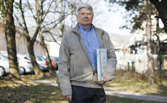 Anton Gunde, nekdanji načelnik odelka za gospodarske dejavnosti MOL v Ljubljani, 30. marec 2017 [Anton Gunde,portreti,Ljubljana]